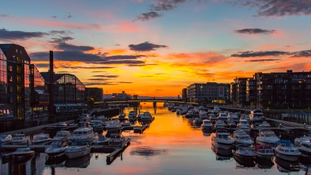 Sommernatt i Trondheim - Fotograf Øyvind Blomstereng