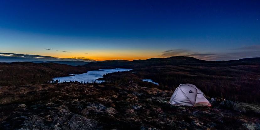 Fosenfjella ei høstnatt - 75x150 cm - Lav - Fotograf Øyvind Blomstereng-7127